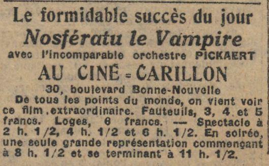 Le Journal du 12 juin 1925