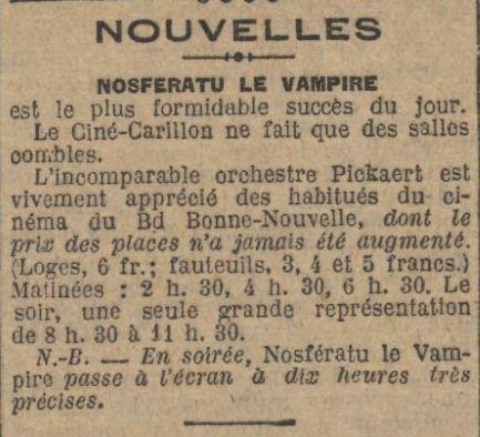 Le Journal du 19 juin 1925