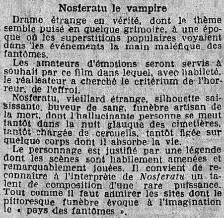 Le Matin du 10 novembre 1922