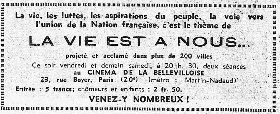 L'Humanité du 10 juillet 1936
