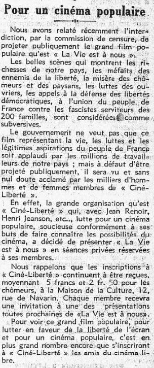 L'Humanité du 21 avril 1936