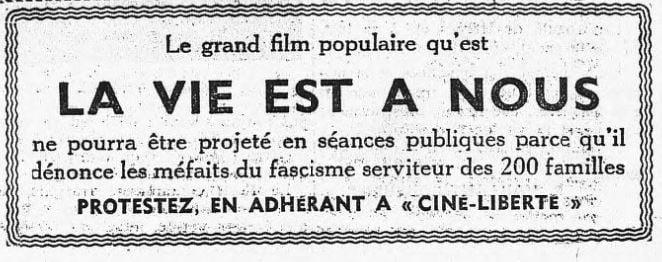 L'Humanité du 24 avril 1936