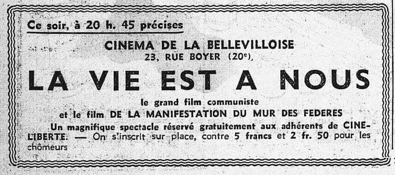 L'Humanité du 31 mai 1936