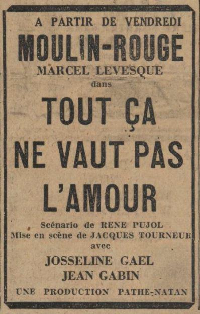 Paris-Soir du 15 octobre 1931