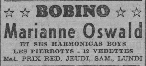 Paris-Soir du 21 novembre 1937