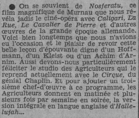 Paris-Soir du 23 février 1931