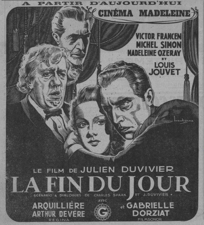 Paris-Soir du 25 mars 1939