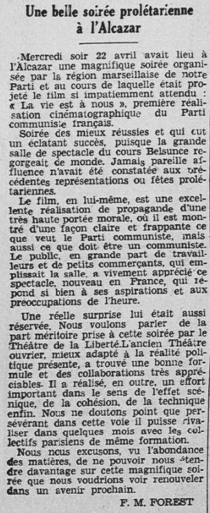 Rouge-Midi du 24 avril 1936