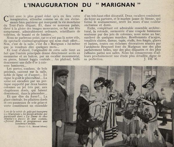 Cinémagazine d'avril 1933