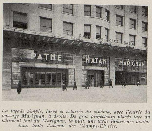 Cinémagazine de septembre 1933