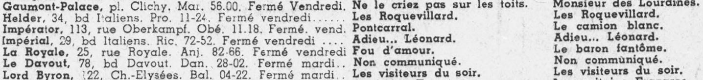 Cinémondial du 10 septembre 1943