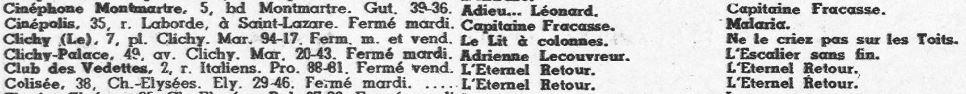 Cinémondial du 12 novembre 1943