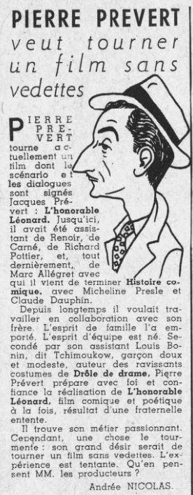 Ciné-Mondial du 15 Janvier 1943