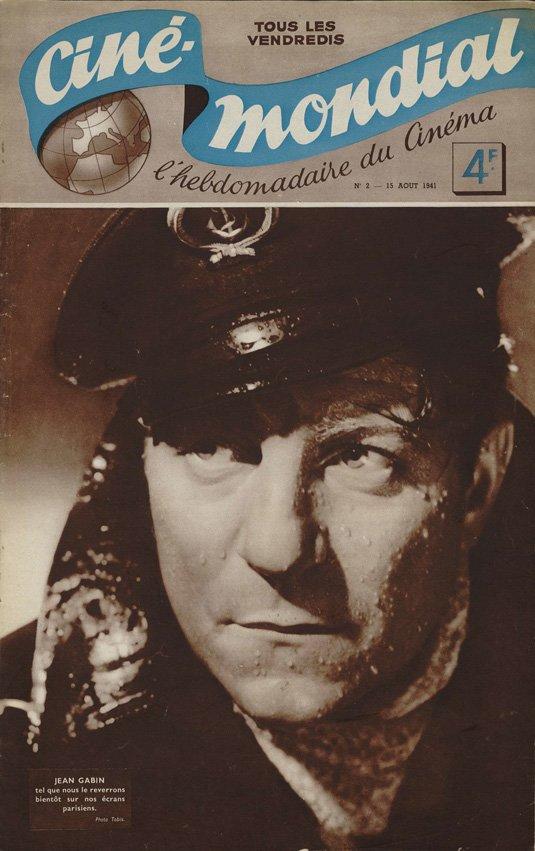 paru dans Ciné-Mondial du 15 août 1941