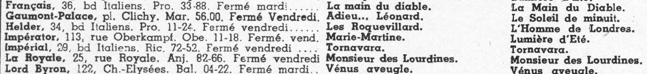 Cinémondial du 8 octobre 1943