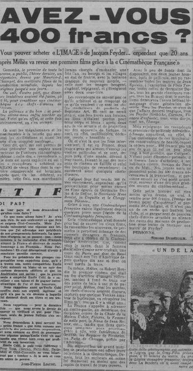 Comoedia du 10 septembre 1936