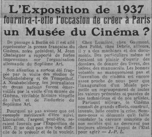 Comoedia du 26 janvier 1936