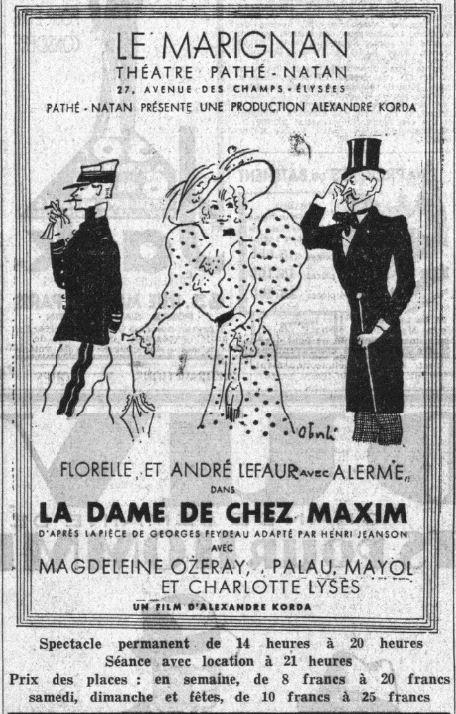 Le Petit Parisien du 01 avril 1933