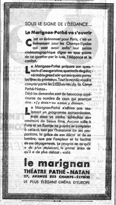 Le Petit Parisien du 27 mars 1933