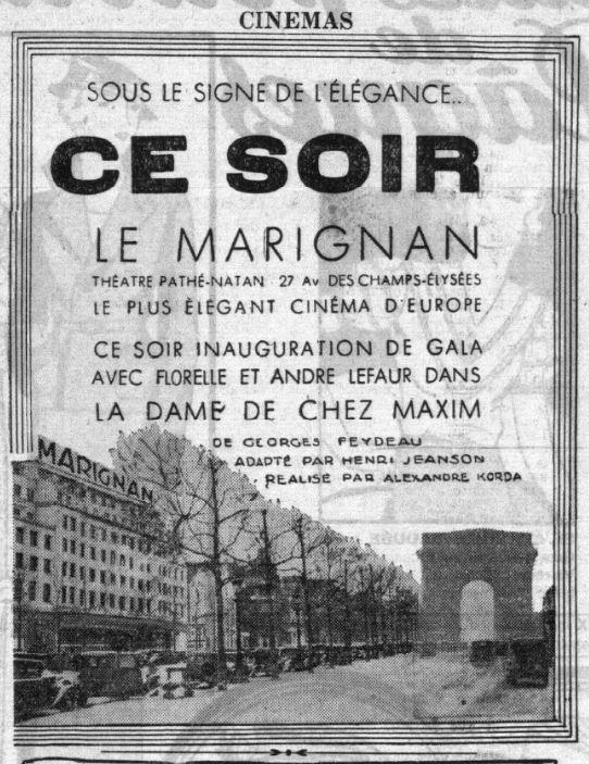 Le Petit Parisien du 30 mars 1933