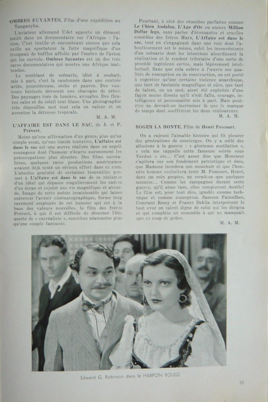 Documents 33 (juillet 1933)