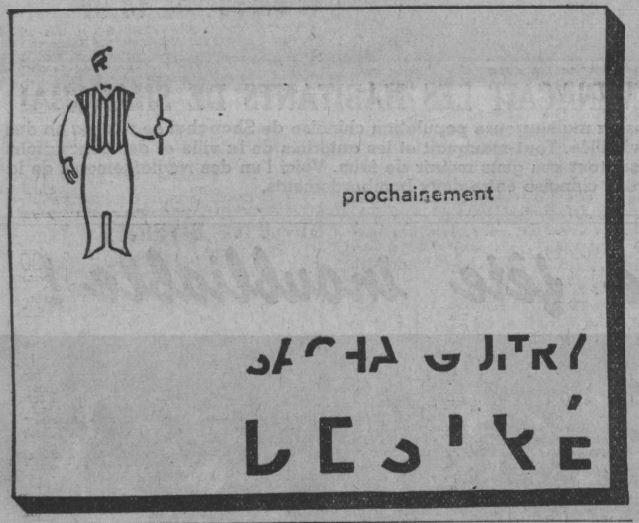 Paris-Soir du 28 novembre 1937
