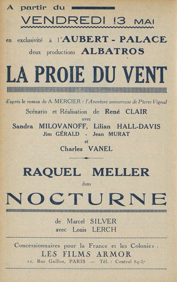 Cinémagazine du 13 mai 1927