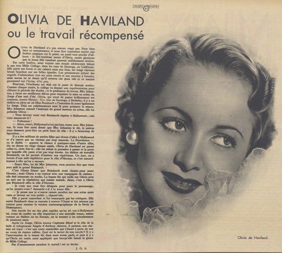 Pour Vous du 29 octobre 1936