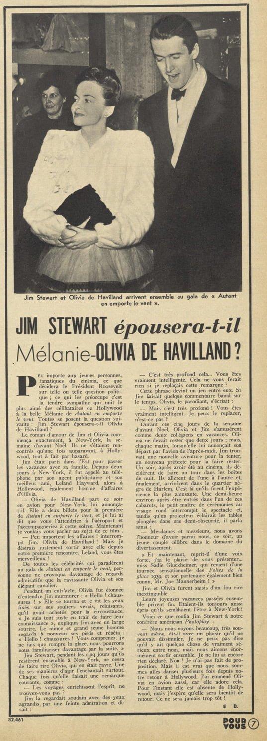 Pour Vous du 1 mai 1940