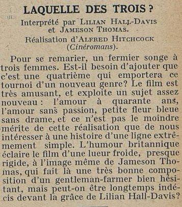 Cinémagazine du 10 mai 1929