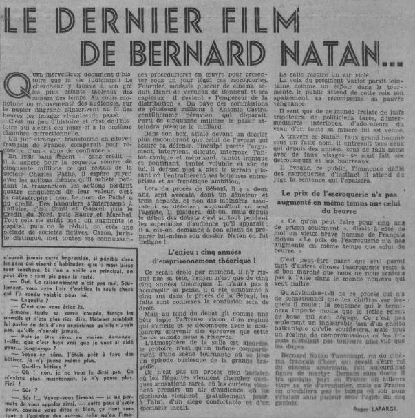 Comoedia du 21 juin 1941