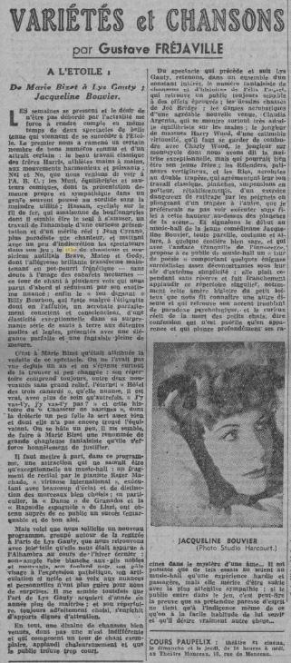 Comoedia du 28 novembre 1942