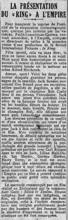 Le Matin du 14 septembre 1929