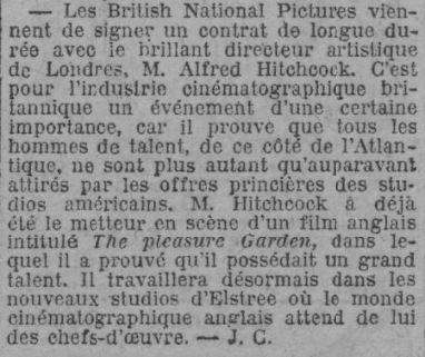 Paris Soir du 28 juin 1926