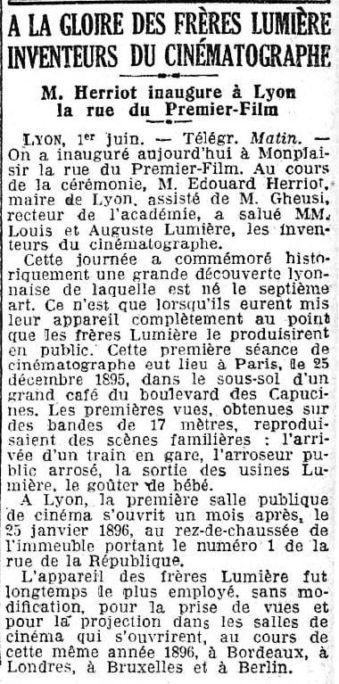 Le Matin du 02 juin 1930