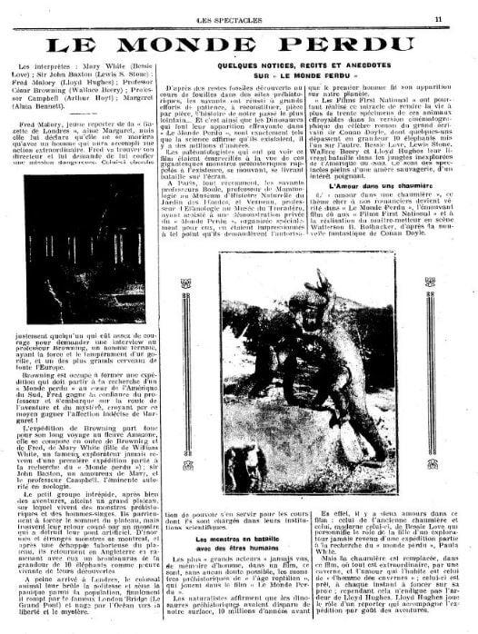Les Spectacles du 25 décembre 1925