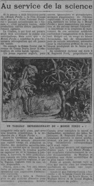 Paris Soir du 08 août 1925