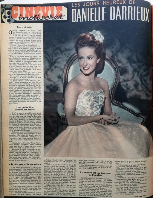 Cinévie du 23 avril 1946