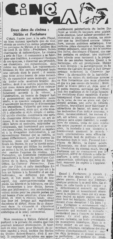 Les Nouvelles Littéraires du 28 décembre 1929