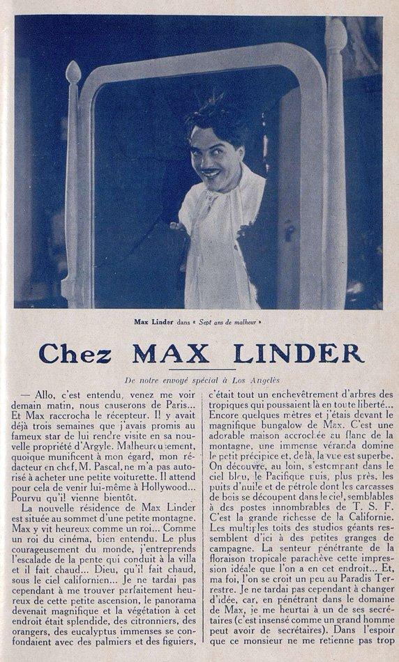 Cinémagazine du 25 novembre 1921