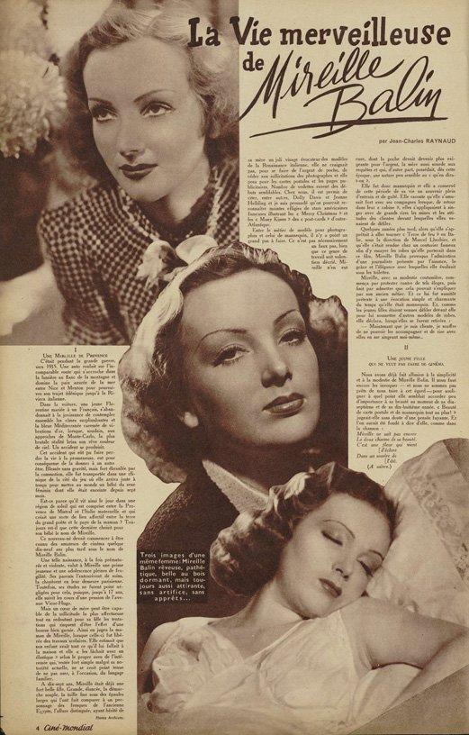 Ciné-Mondial du 14 novembre 1941