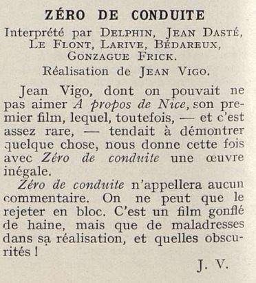 Cinémagazine de mai 1933