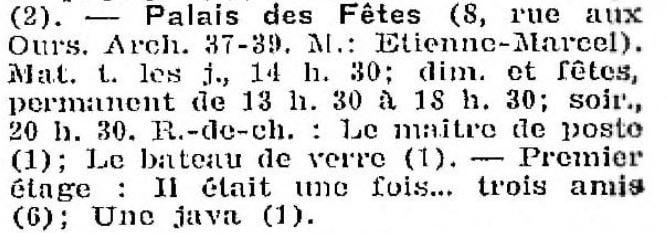 La Semaine à Paris du 14 juin1929