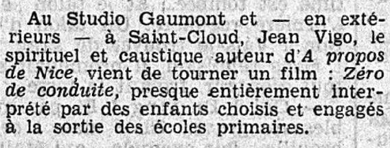 Le Petit Journal du 7 avril 1933
