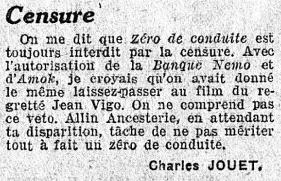 Le Populaire du 23 novembre 1934