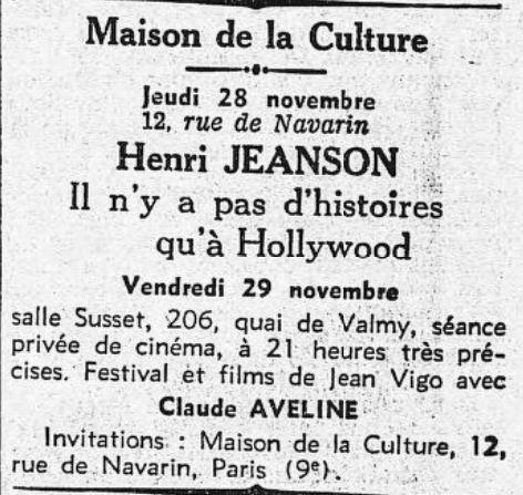 L'Humanité du 27 novembre 1935