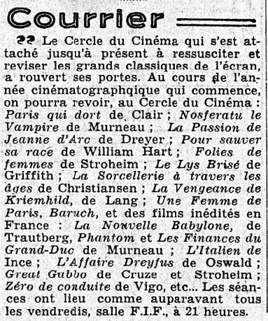 L'Intransigeant du 31 octobre 1937