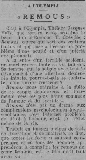 Comoedia du 16 mars 1935