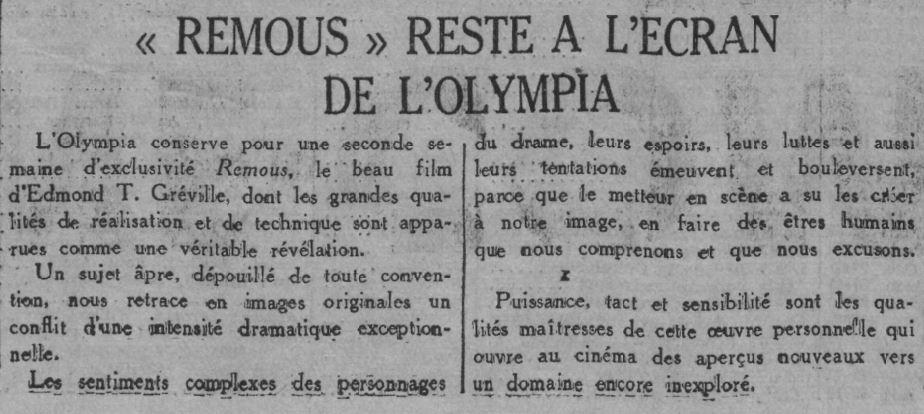 Comoedia du 22 mars 1935