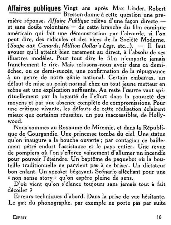 Esprit du 01 décembre 1934